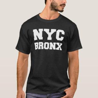 Black and White New York City Bronx T-Shirt