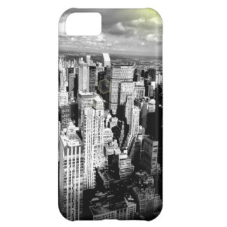 Black and White New York City Skyline Case For iPhone 5C