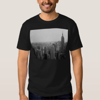 Black and White NYC Skyline Cityscape T-Shirt