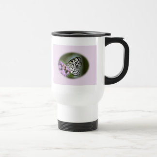 Black and White Nymph Butterfly Mug