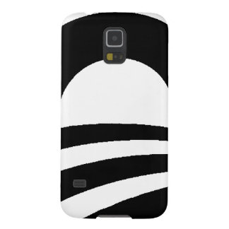 black and white obama logo galaxy s5 case