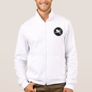 Black and White Octopus Funny Colorful Tentacles Jacket