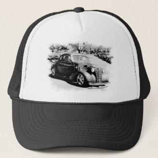 Black and White Oldie - Vintage Auto Trucker Hat