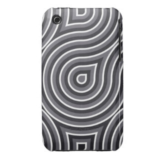 Black and White Optical 3/3GS case Case-Mate iPhone 3 Cases