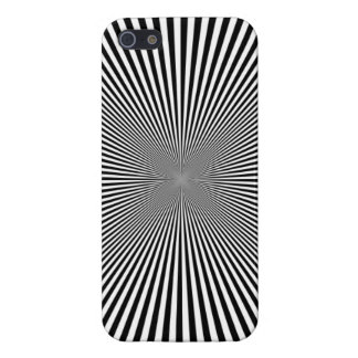 Black and White Optical Illusion iPhone Case Cover For iPhone 5/5S