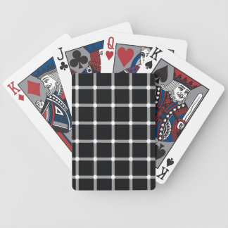 Black and White Optical Illusion Playing Cards