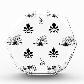 Black and white oriental award