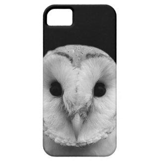 Black and white owl animal photography case