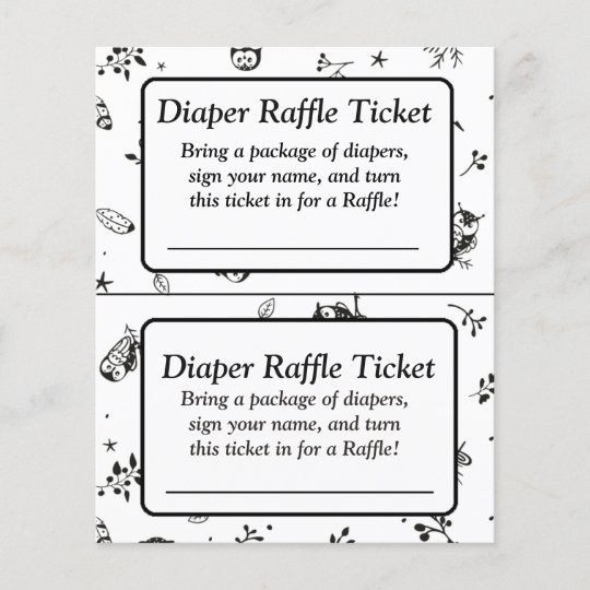 Black And White Owl Themed Baby Shower Games