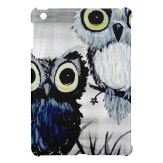 Black and white owls artwork J.O.,Thailand iPad Mini Covers