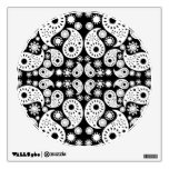 Black and White Paisley. Room Graphic