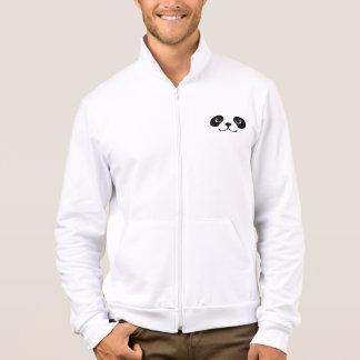 Black And White Panda Cute Animal Face Design Jacket