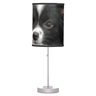 Black and White Papillon Table Lamp