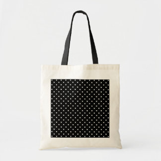 Black and White Pattern - Hearts. Bag