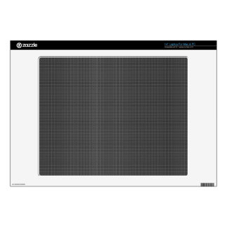 black and white pattern laptop decal