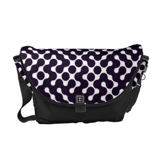 Black and White Patterned Commuter Bags