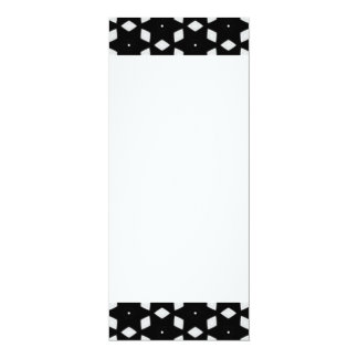 Black and White Patterns | Diamonds and Stars I Card