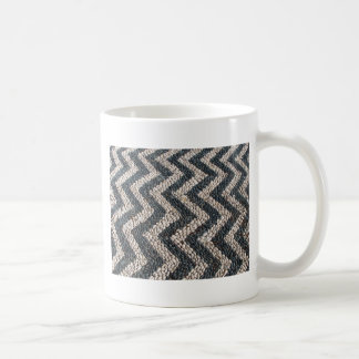Black and white pebble mosaic in GREECE Coffee Mugs