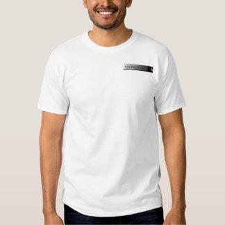Black and White Peekaboo Cat Tee Shirt