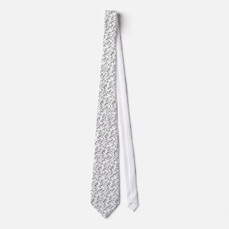 Black and White Penguin Party Tie