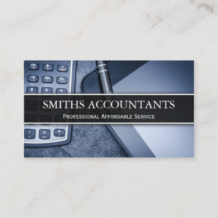 Account manager business cards zazzle black and white photo accountant business card reheart Images