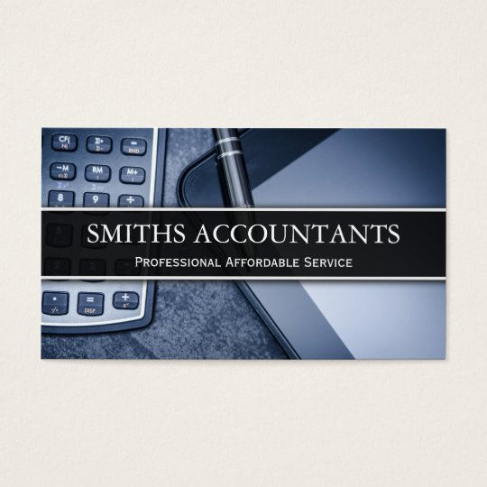 Business card examples for accountants best business cards for Cpa business card examples