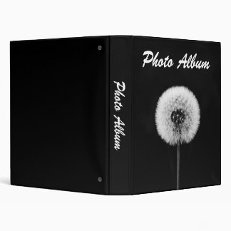 Black and White Photo Album Binder