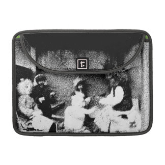 Black and white photo sleeve for MacBook pro