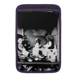 Black and white photo sleeves for MacBook air