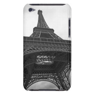 Black and white photograph of the Eiffel Tower iPod Touch Case