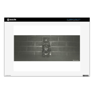 "Black and White Photography Camera Computer Skin 13"" Laptop Decal"