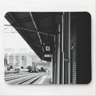 black and white photography mouse pad