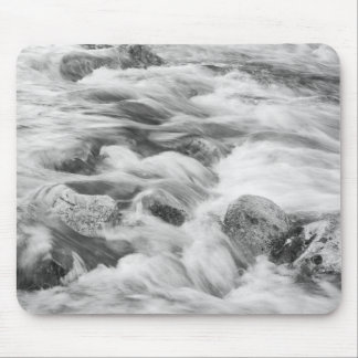 Black And White Photography Water Of Life Mousepad