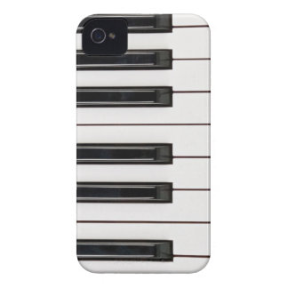 Black and White Piano Keyboard BlackBerry Bold Cas iPhone 4 Case-Mate Case