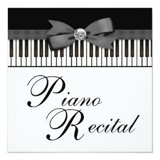 piano recital invitations printable