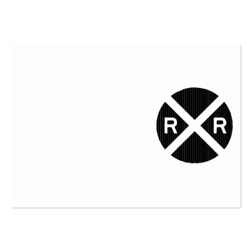 Railroad Crossing Sign Black And White | www.imgkid.com ...