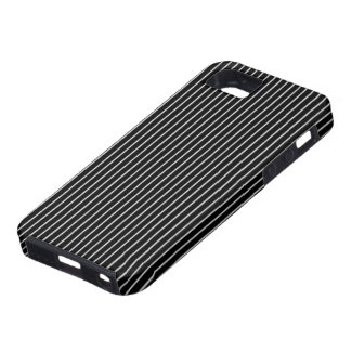 Black and White Pinstripe iPhone SE/5/5s Case
