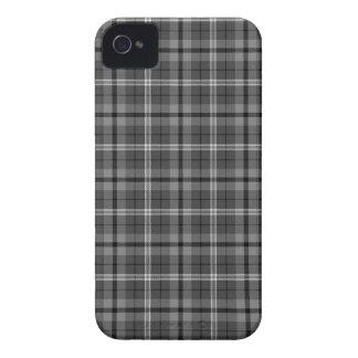 Black and White Plaid Blackberry Bold Case