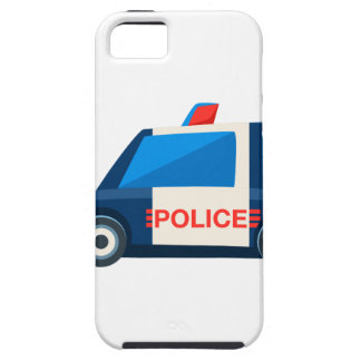 Black And White Police Toy Cute Car Icon iPhone SE/5/5s Case