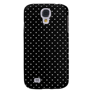 Black and white polka dot galaxy s4 covers