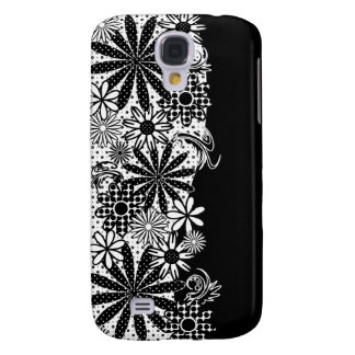 Black And White Polka Dot Florals Speck Case