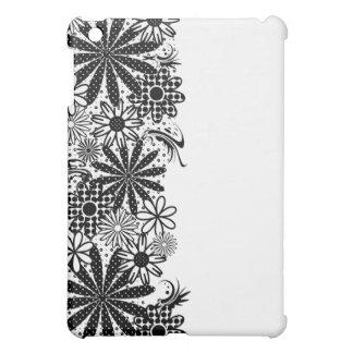 Black And White Polka Dot Florals Speck Case iPad Mini Cases