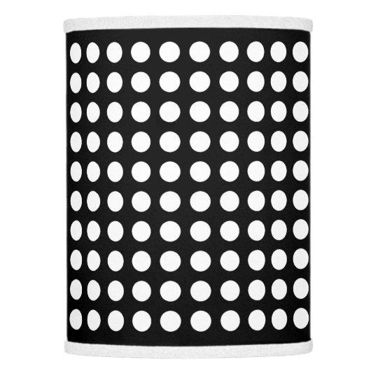 Black and white polka dot lamp shade zazzle black and white polka dot lamp shade aloadofball Gallery