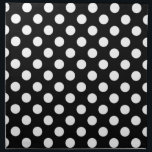 """Black and White Polka Dot Napkins<br><div class=""""desc"""">Ideal for a variety of occasions,  these Black and White Polka Dot Napkins coordinate with our matching placemats,  as well as our Black and White Polka Dot Wedding invitations and accessories. Perfect for weddings,  but also for parties large and small.</div>"""