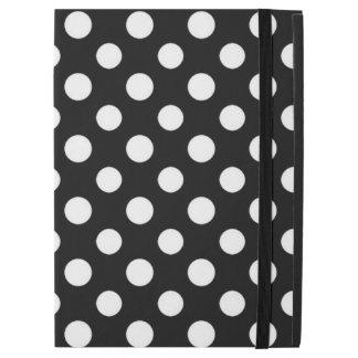 Black and White Polka Dot Pattern iPad Pro Case