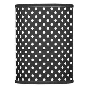 Polka dot lamp shades zazzle black and white polka dot pattern lamp shade aloadofball Gallery