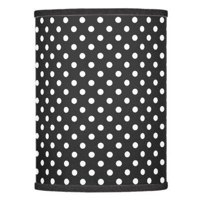 Black and White Polka Dot Desk Lamp | Zazzle.com