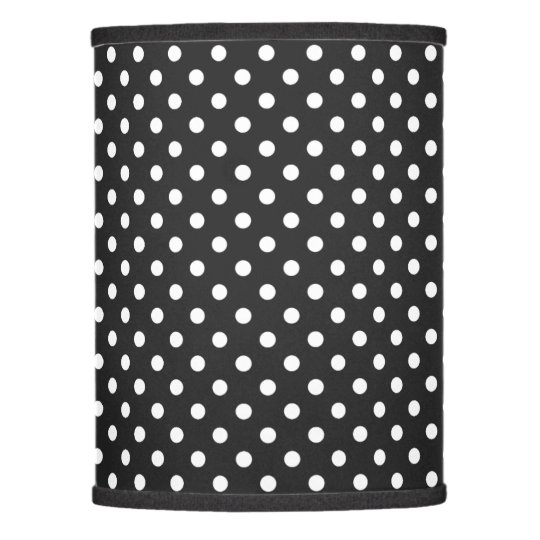 Black and white polka dot pattern lamp shade zazzle black and white polka dot pattern lamp shade aloadofball