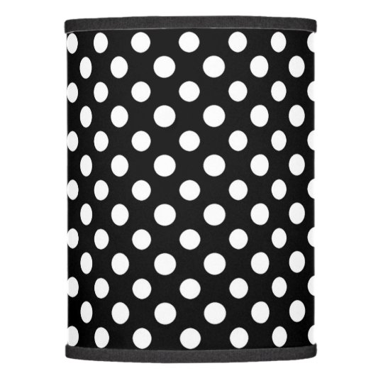 Black and white polka dot pattern lamp shade zazzle black and white polka dot pattern lamp shade aloadofball Gallery