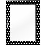 Black and White Polka Dot Pattern. Spotty. Dry-Erase Whiteboards